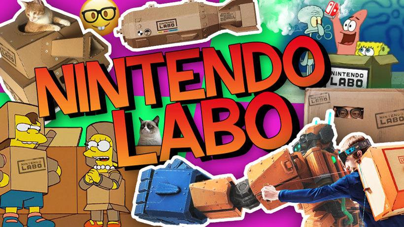 Los memes de Nintendo Labo